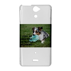 Blue Merle Miniature American Shepherd Love W Pic Sony Xperia V