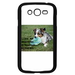 Blue Merle Miniature American Shepherd Love W Pic Samsung Galaxy Grand DUOS I9082 Case (Black) Front