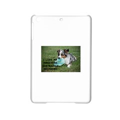 Blue Merle Miniature American Shepherd Love W Pic iPad Mini 2 Hardshell Cases