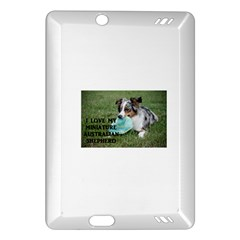 Blue Merle Miniature American Shepherd Love W Pic Amazon Kindle Fire HD (2013) Hardshell Case