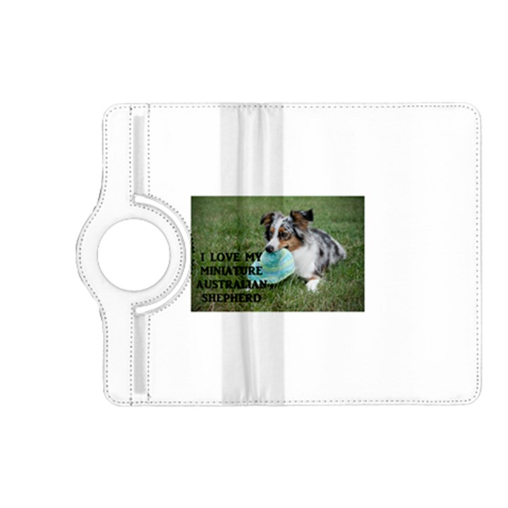 Blue Merle Miniature American Shepherd Love W Pic Kindle Fire HD (2013) Flip 360 Case