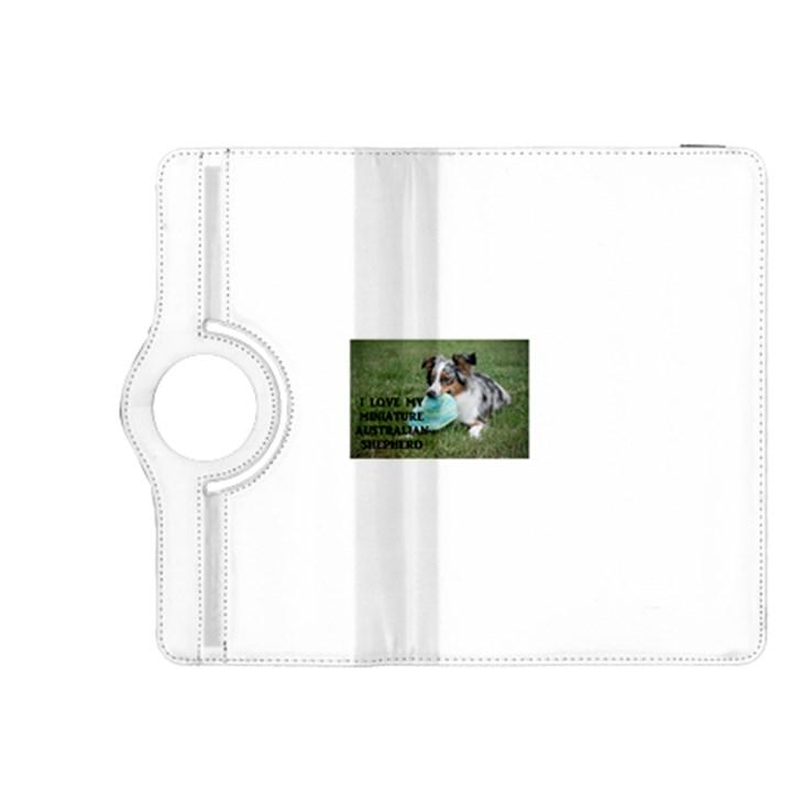 Blue Merle Miniature American Shepherd Love W Pic Kindle Fire HDX 8.9  Flip 360 Case