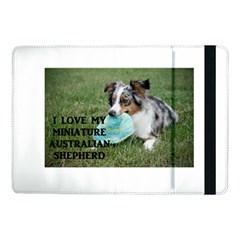 Blue Merle Miniature American Shepherd Love W Pic Samsung Galaxy Tab Pro 10.1  Flip Case