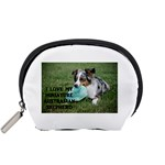 Blue Merle Miniature American Shepherd Love W Pic Accessory Pouches (Small)  Front