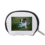 Blue Merle Miniature American Shepherd Love W Pic Accessory Pouches (Small)  Back