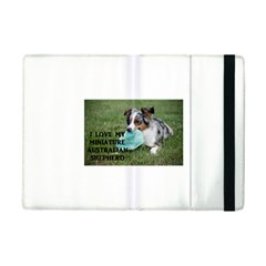 Blue Merle Miniature American Shepherd Love W Pic iPad Mini 2 Flip Cases