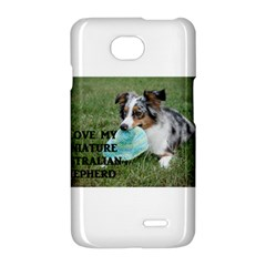 Blue Merle Miniature American Shepherd Love W Pic LG Optimus L70