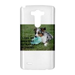 Blue Merle Miniature American Shepherd Love W Pic LG G3 Hardshell Case