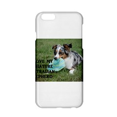 Blue Merle Miniature American Shepherd Love W Pic Apple iPhone 6/6S Hardshell Case