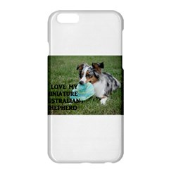 Blue Merle Miniature American Shepherd Love W Pic Apple iPhone 6 Plus/6S Plus Hardshell Case