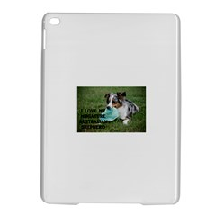 Blue Merle Miniature American Shepherd Love W Pic iPad Air 2 Hardshell Cases