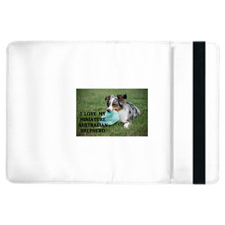Blue Merle Miniature American Shepherd Love W Pic iPad Air 2 Flip