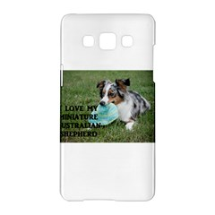 Blue Merle Miniature American Shepherd Love W Pic Samsung Galaxy A5 Hardshell Case