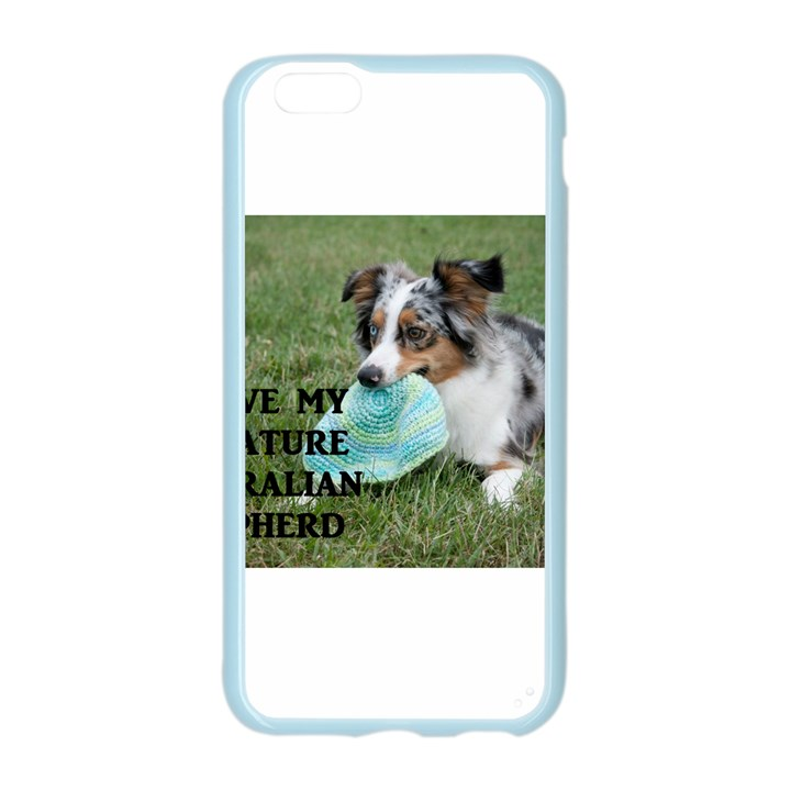 Blue Merle Miniature American Shepherd Love W Pic Apple Seamless iPhone 6/6S Case (Color)
