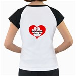My Newfie Loves Me Women s Cap Sleeve T Back