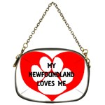 My Newfie Loves Me Chain Purses (One Side)  Front
