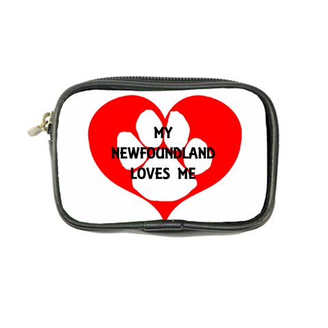 My Newfie Loves Me Coin Purse