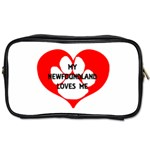 My Newfie Loves Me Toiletries Bags 2-Side Front