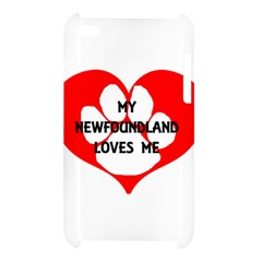 My Newfie Loves Me Apple iPod Touch 4