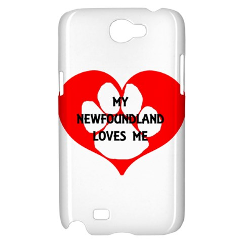 My Newfie Loves Me Samsung Galaxy Note 2 Hardshell Case