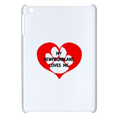 My Newfie Loves Me Apple iPad Mini Hardshell Case