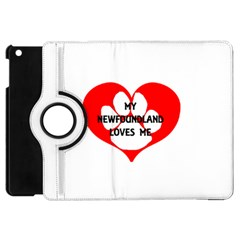 My Newfie Loves Me Apple iPad Mini Flip 360 Case