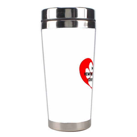 My Newfie Loves Me Stainless Steel Travel Tumblers