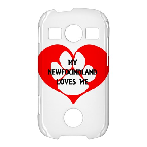 My Newfie Loves Me Samsung Galaxy S7710 Xcover 2 Hardshell Case