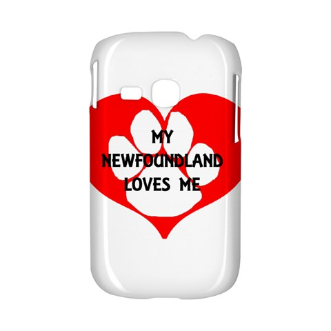 My Newfie Loves Me Samsung Galaxy S6310 Hardshell Case