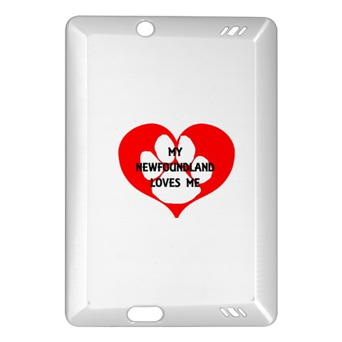 My Newfie Loves Me Amazon Kindle Fire HD (2013) Hardshell Case