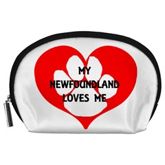 My Newfie Loves Me Accessory Pouches (Large)