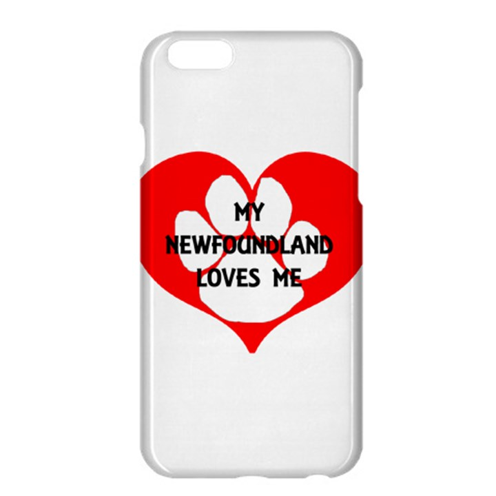 My Newfie Loves Me Apple iPhone 6 Plus/6S Plus Hardshell Case