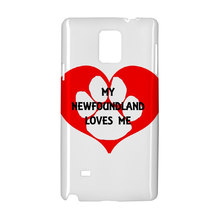 My Newfie Loves Me Samsung Galaxy Note 4 Hardshell Case
