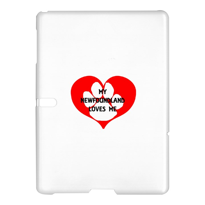 My Newfie Loves Me Samsung Galaxy Tab S (10.5 ) Hardshell Case