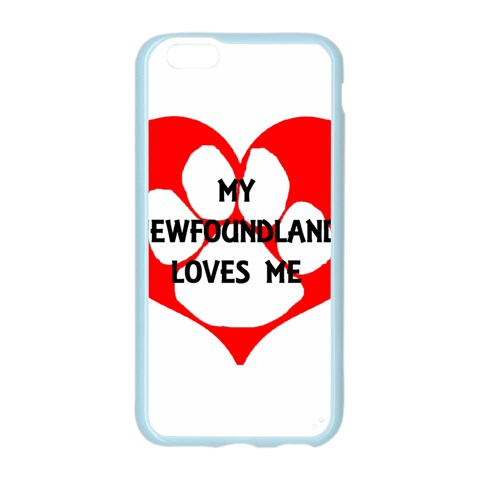 My Newfie Loves Me Apple Seamless iPhone 6/6S Case (Color)