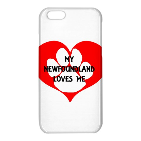 My Newfie Loves Me iPhone 6/6S TPU Case