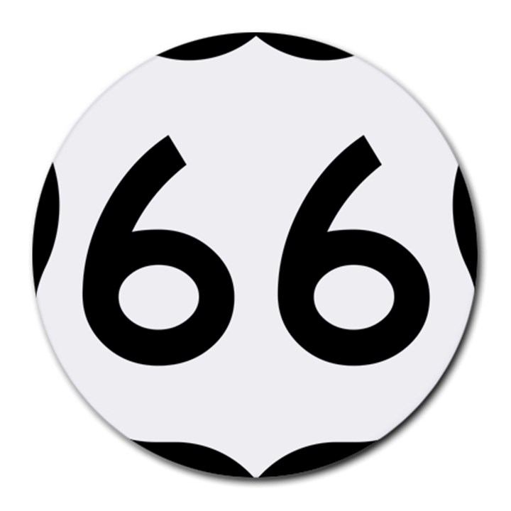 U.S. Route 66 Round Mousepads