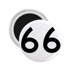 U.S. Route 66 2.25  Magnets