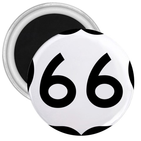 U.S. Route 66 3  Magnets