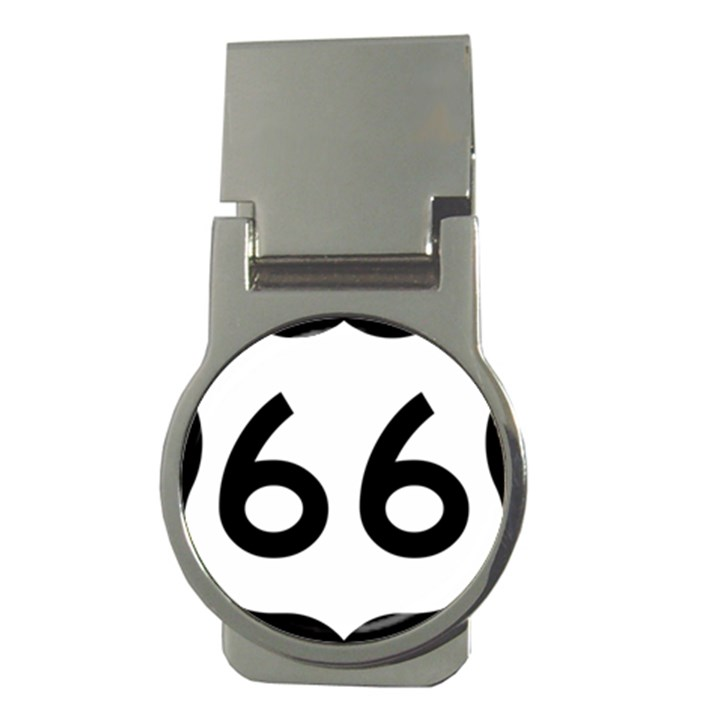 U.S. Route 66 Money Clips (Round)