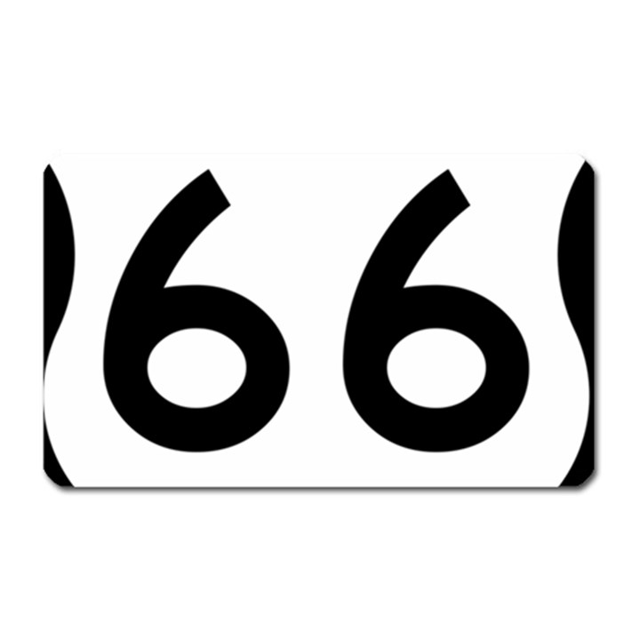 U.S. Route 66 Magnet (Rectangular)