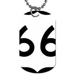 U S  Route 66 Dog Tag (two Sides)