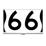 U.S. Route 66 Business Card Holders Front