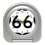 U.S. Route 66 Travel Alarm Clocks Front