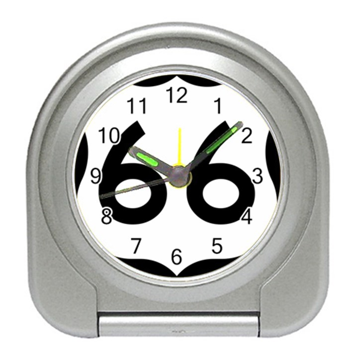 U.S. Route 66 Travel Alarm Clocks