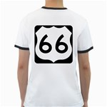 U.S. Route 66 Ringer T-Shirts Back