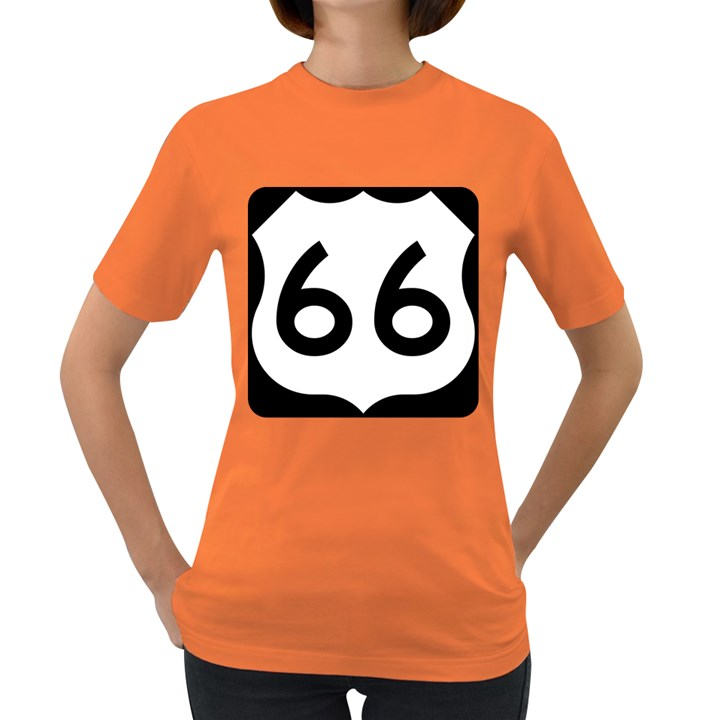 U.S. Route 66 Women s Dark T-Shirt