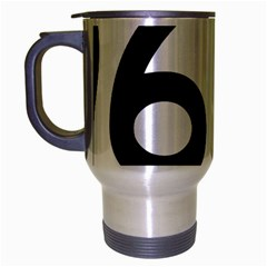 U.S. Route 66 Travel Mug (Silver Gray)