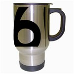 U.S. Route 66 Travel Mug (Silver Gray) Right