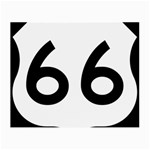 U.S. Route 66 Small Glasses Cloth Front